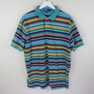 Polo by Ralph Lauren Retro Style Striped Shirt